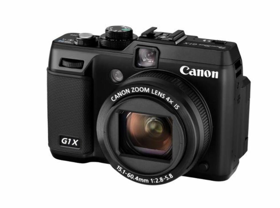 Dette kompaktkameraet har fått en svær CMOS-sensor, på størrelse med den som sitter i mange speilreflekser. Dermed burde detaljene være sikret. Foto: Canon