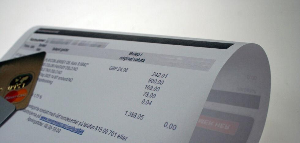 image: Nå kommer regningene