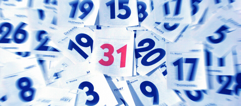 Neste jul blir fin og jobbfri for de aller fleste arbeidstakerne i landet. Foto: Colourbox.com