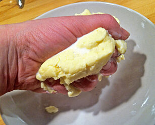 image: Slik lager du smør