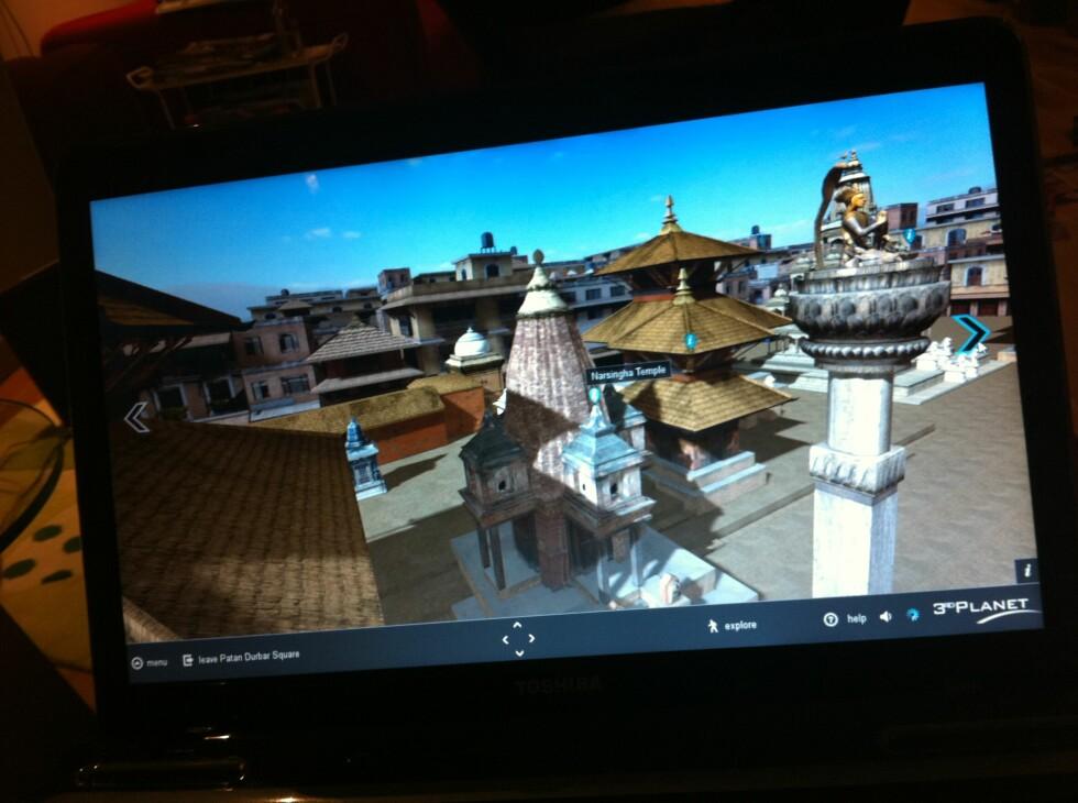 I Katmandu kan du gå rundt for å oppleve flere severdigheter. Du kan også få et innblikk i hvordan flyplassen ser ut.