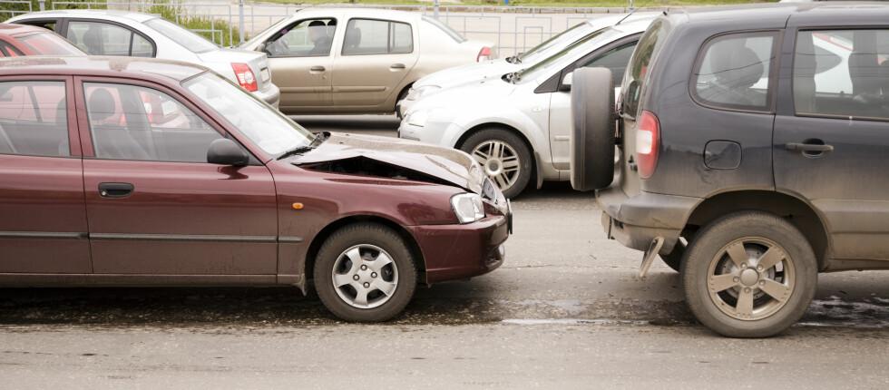 HØYSESONG FOR KJØPESENTERBULKING: 22. og 23. desember var de to mest travle dagene hva gjelder ulykker, i 2010. Foto: COLOURBOX.COM