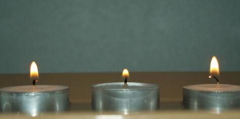image: Disse telysene brenner lengst