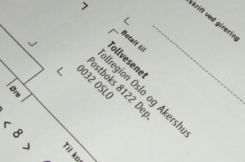 HUSK FRISTEN: Betaler du for sent, må du ut med 250 kroner i purregebyr. Foto: Stine Okkelmo