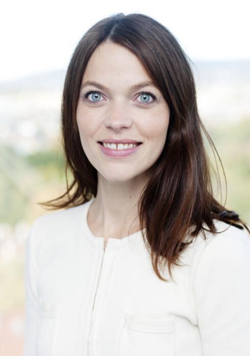 Kommunikasjonsdirektør Astrid Bugge Mjærum har fått Skatteetaten på Facebook.  Foto: Skatteetaten
