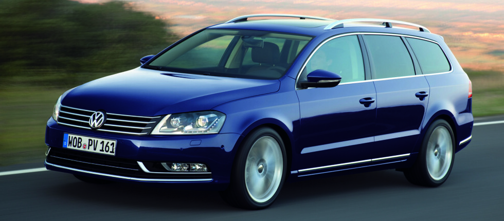 Volkswagen Passat er den mest populære bilen i mellomklassen i Norge