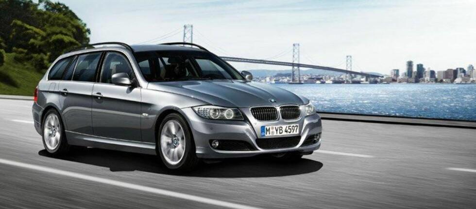 BMW 3-serie fremstår som et godt kjøp. Den nye modellen erstatter i disse dager den gamle, noe som påvirker prisen på utgående.  Foto: BMW