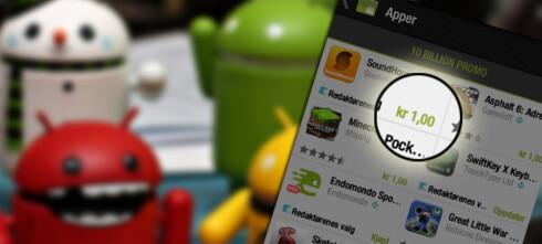 1 krone for populære Android-apper