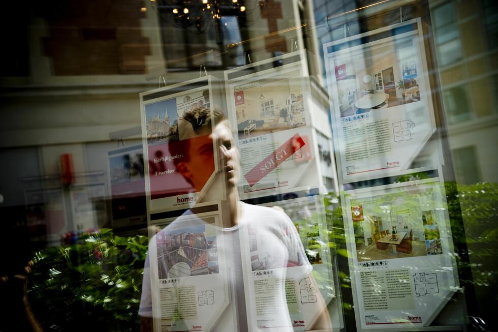 <b>Boligdrømmen</b> kan virke enda mer uoppnåelig med bankenes nye utlånspolitikk. Foto: Colourbox.com