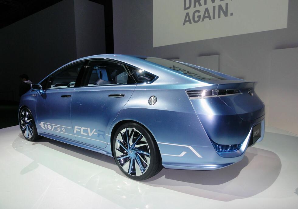 Spenstigere design er det lenge siden vi har sett fra Toyota.   Foto: Knut Moberg