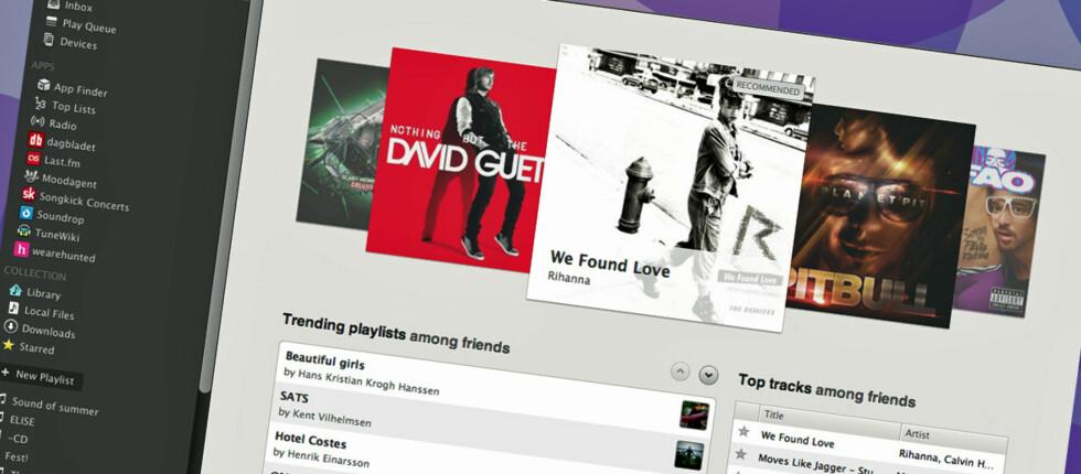 Spotify har nå fått støtte for apps, samt en langt bedre forside enn før.