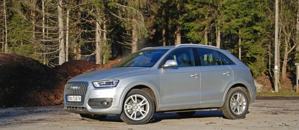 Q3 er Audis minste og rimeligste SUV Foto: Cato Steinsvåg