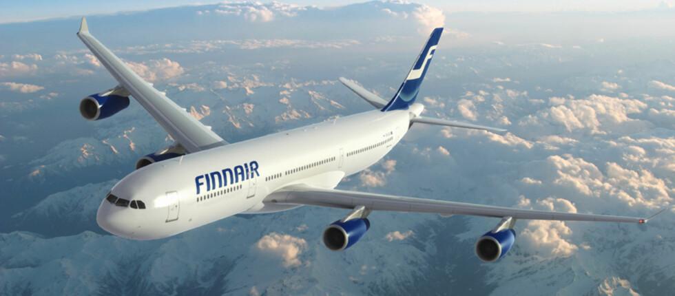 Flyselskapet Finnair opplever en vekst fra Norge til sine asiatiske reisemål.  Foto: Finnair