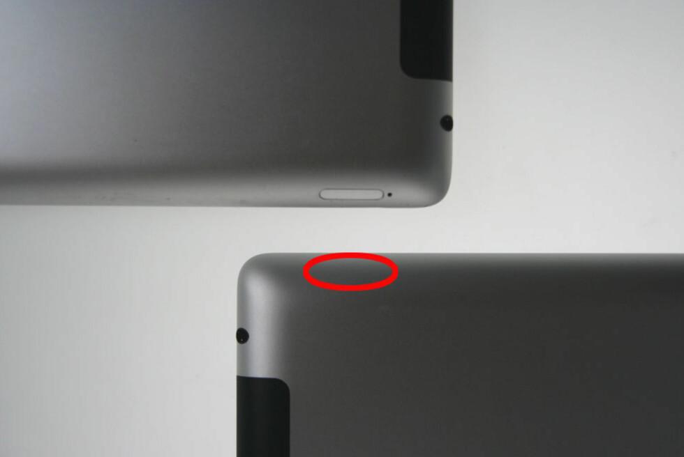 På bildet ser du to iPad 2 3G. Men det er kun den ene som kan brukes i Norge. Foto: Øyvind P