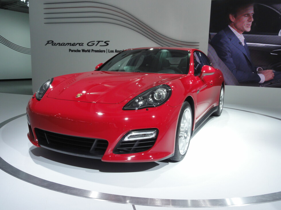 Panamera GTS er ifølge Porsche den mest sportslige i familien. Foto: Fred Magne Skillebæk