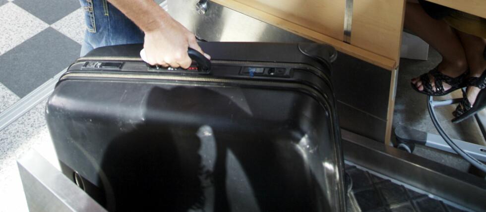 GJØR DET SELV: Snart kan du skanne og sjekke inn bagasjen din selv på Oslo Lufthavn Gardermoen. Foto: Colourbox