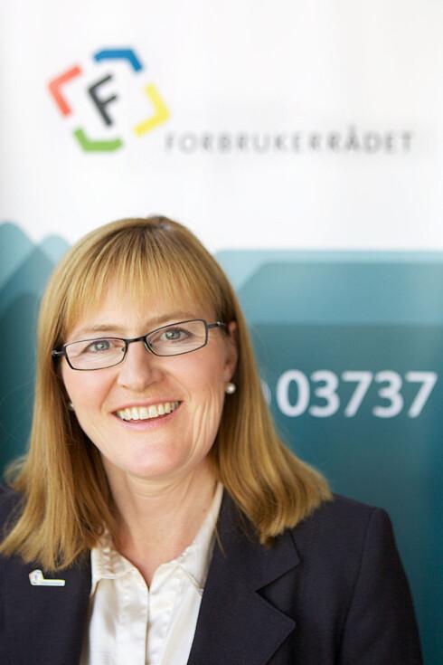 UENIG: Regiondirektør Helga Skofteland i Forbrukerrådet mente Humac måtte punge ut, og fikk dem til å gjøre det.  Foto: CF Wesenberg/Kolonihaven/Forbrukerrådet)