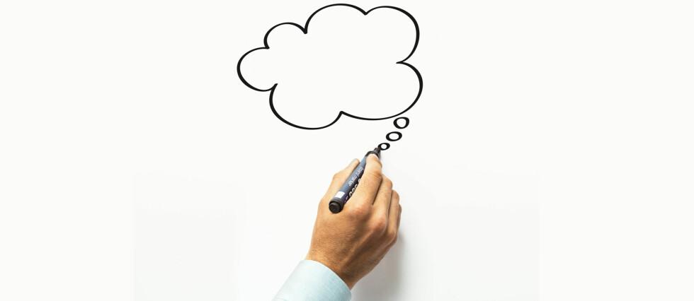 Tankebobler. Huskelister. Frekkiser. Skriv hva du vil på overflater som er malt med whiteboardmaling. Foto: Flügger