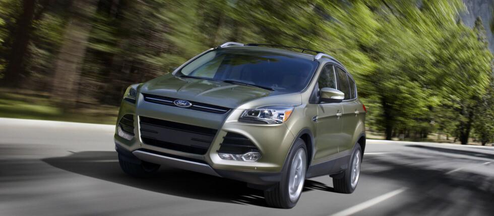 Escape skal hete Kuga blant annet på det europeiske markedet - men bilen er i stor grad den samme Foto: Ford