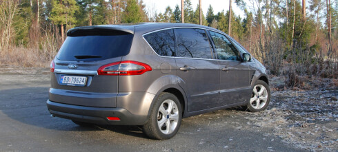 TEST: Ford S-Max i rimeligste utgave