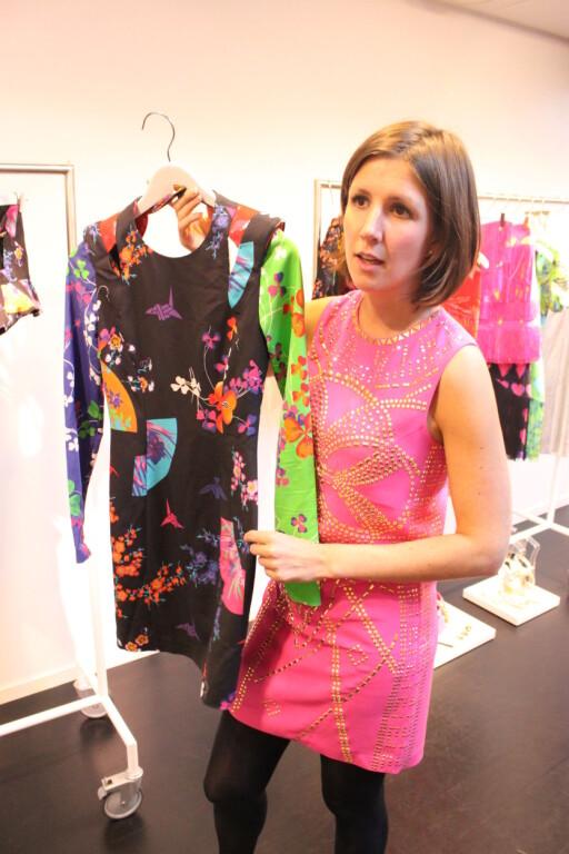 Versace har gravd i mønsterarkivet sitt for første gang, sier Kine Dreyer i H&M. Foto: Cecilie Leganger