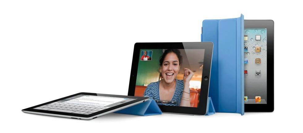 Den første iPaden ble lansert for sent på året til å bli nominert i fjor. I år var det imidlertid ingen tvil om hvem som stakk av med seieren. Foto: Produktbilde Apple