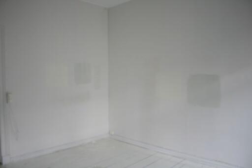 Fargen oppleves forskjellig i forhold til hvordan lyset treffer, derfor kan det lønne seg å sjekke på flere vegger.  Foto: DinSide