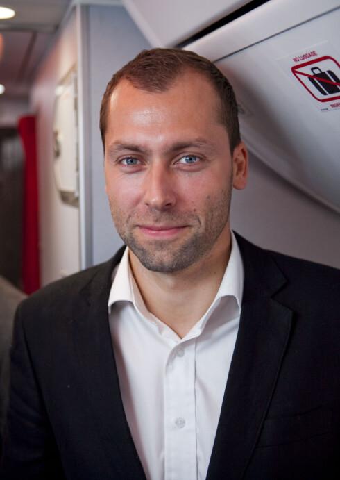 Stephen Parsli er daglig leder i Call Norwegian. Foto: Per Ervland