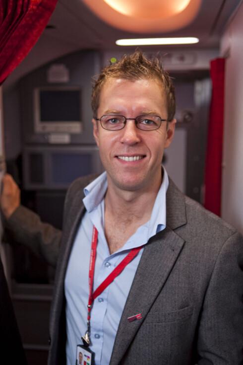 Lasse Sandaker-Nielsen er kommunikasjonsrådgiver i Norwegian. Foto: PER ERVLAND