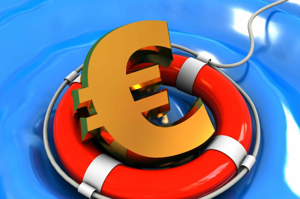 OPP: Trøbbel i Euro-land, nå kuttes styringsrenten. Foto: Colourbox.com