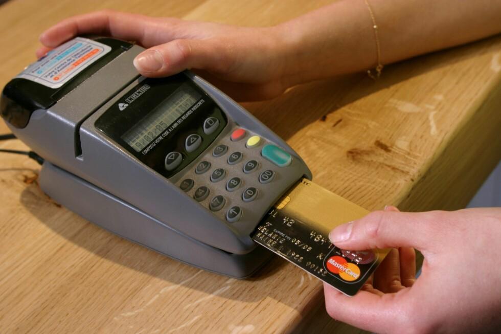 HVA KJØPTE DU NÅ: Nå skal alt du kjøper overvåkes, ifølge det amerikanske nettstedet Cnet. Foto: colourbox.com