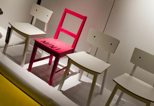 10 prosent av nordmenn har en stol de ikke ønsker å dele med dem de bor sammen med. Foto: Per Ervland