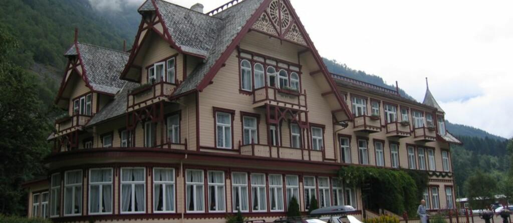 UHU: På Hotel Union Øye kan du høre Linda gråte over sin kjære på det blå rommet. Foto: Wikimedia