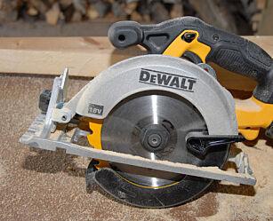 image: DeWalt DCS391 18V sirkelsag