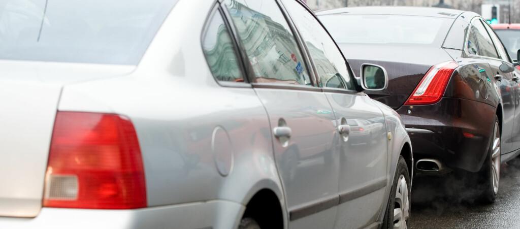 <b>LAVERE FORBRUK:</b> En hvit bil vil kunne kutte drivstofforbruket med to prosent, sammenliknet med en svart, viser en fersk studie. Foto: colourbox.com