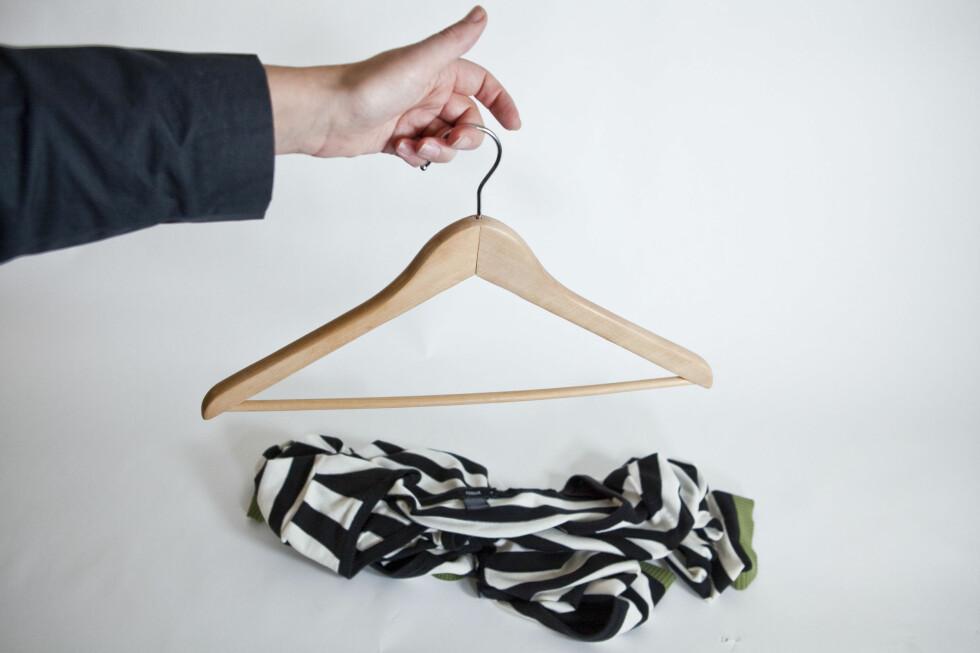 Lei av at klærene sklir av?  Foto: Per Ervland
