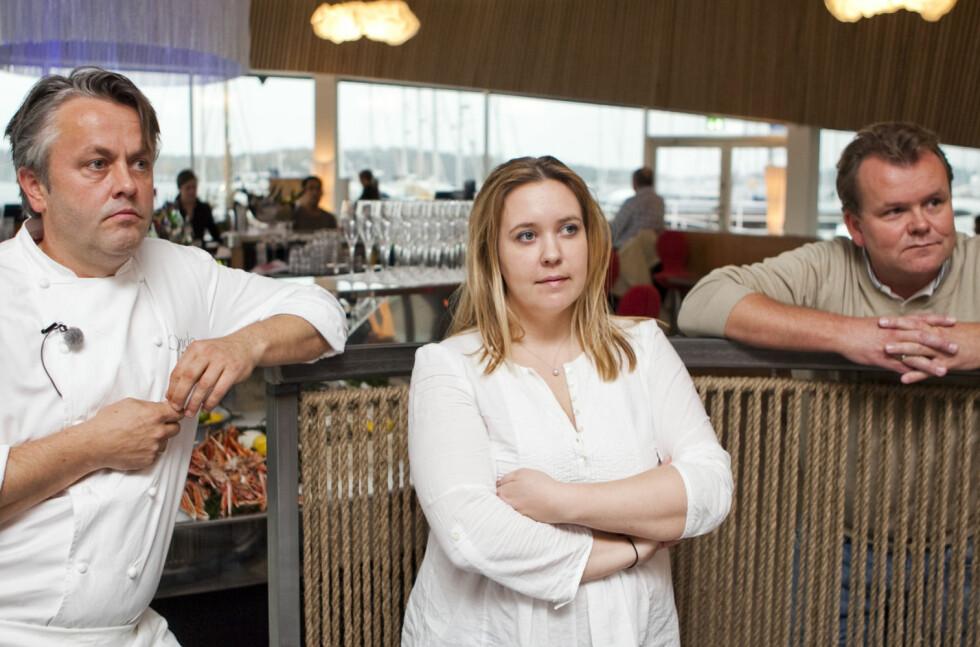 Terje Ness, Kari Innerå og Jørn Lie sverger til gode kniver hjemme - men ikke nødvendigvis de dyreste. Her på Ness' nyeste restaurant Onda på Aker Brygge i Oslo. Foto: Per Ervland