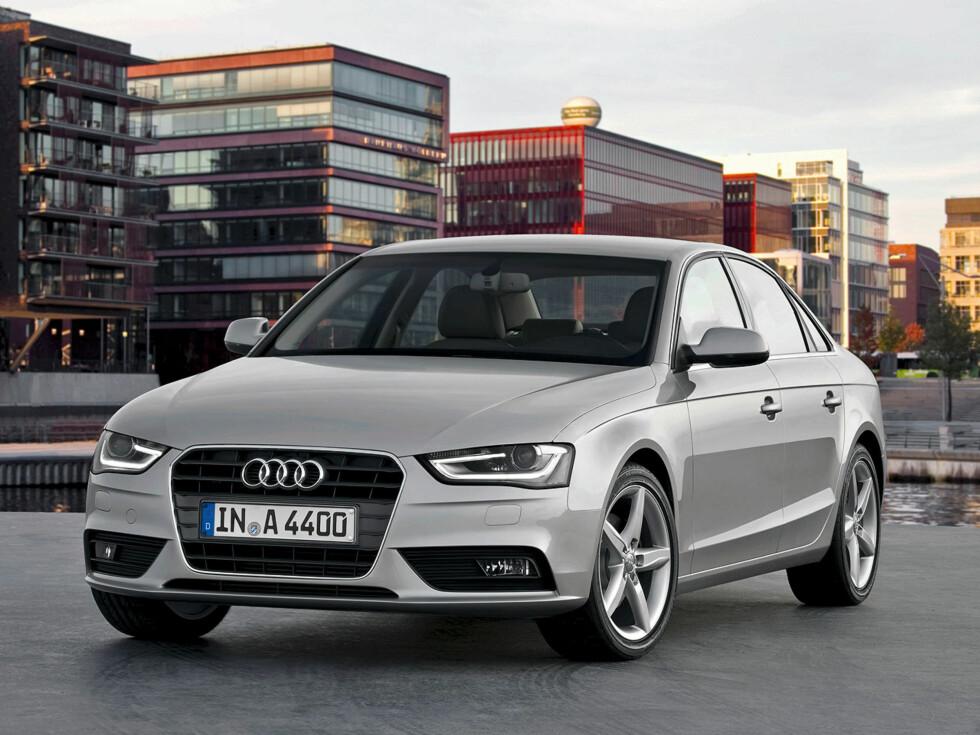 ANSIKTSLØFTNING: Skarpere linjer, nye lykter, ny profil på panseret. Foto: Audi