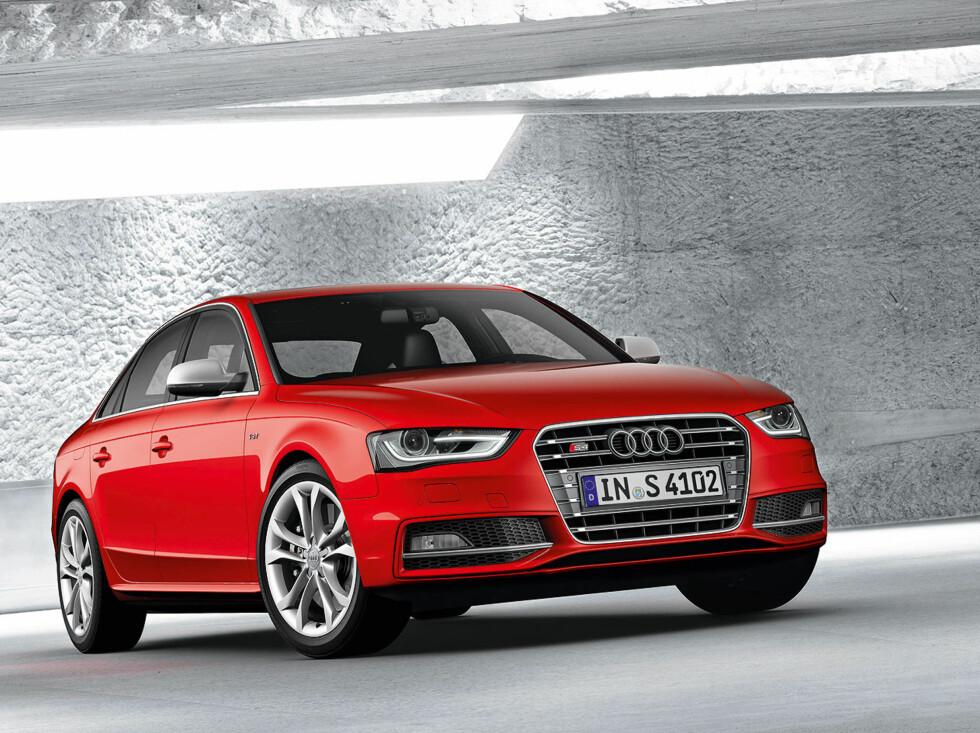 Også sportsutgaven S4 er oppdatert. Foto: Audi