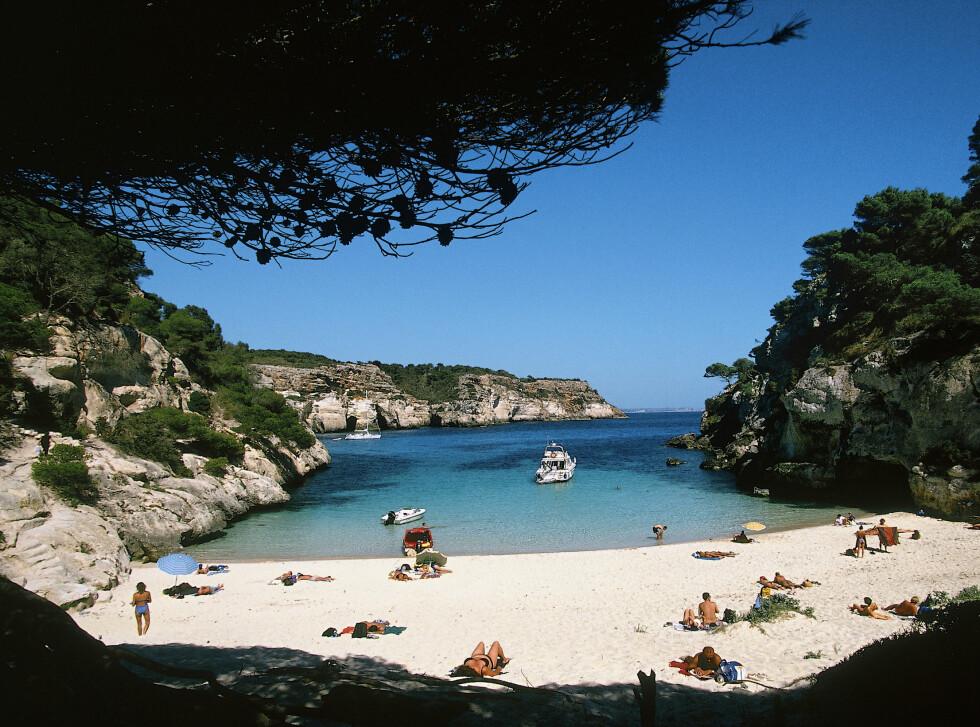 Menorca har deilige strender, for dem som liker det. Foto: Torleif Svensson/Star Tour