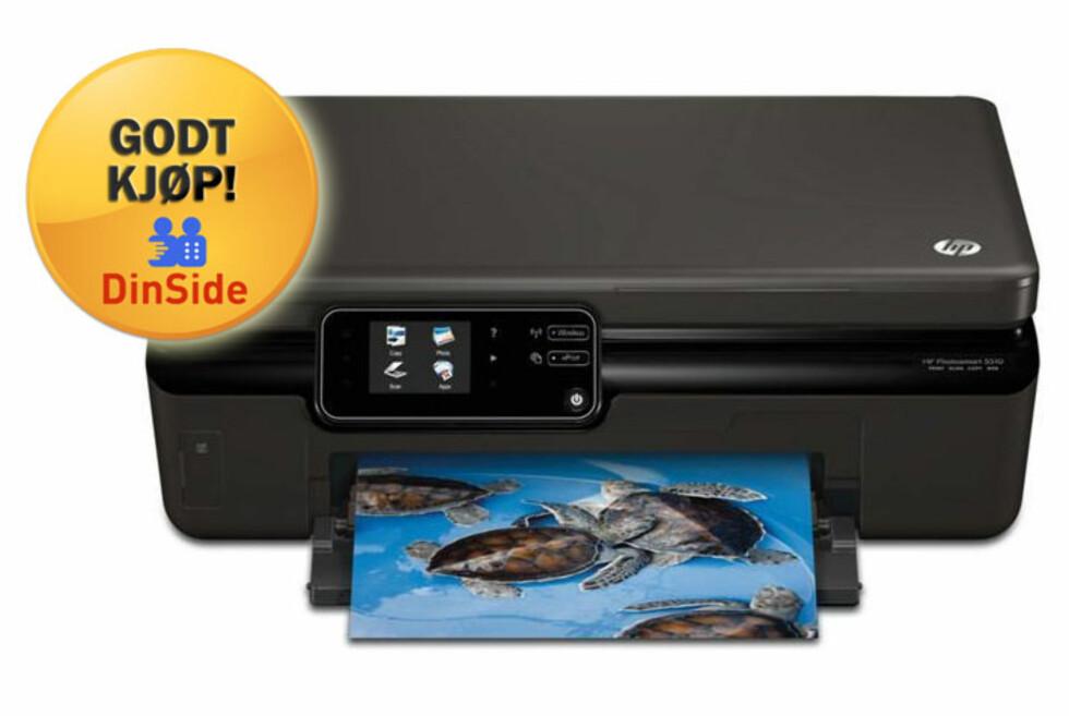 Funksjonsrik og enkel å bruke, og med en prislapp som ikke bør skremme noen. HP Photosmart 5510 er et godt kjøp.