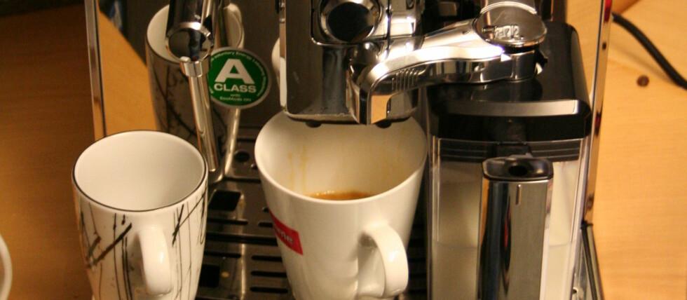 I følge svenske odds-spillere blir kaffemaskinene den mest populære julegaven i år. Foto: Øyvind Paulsen