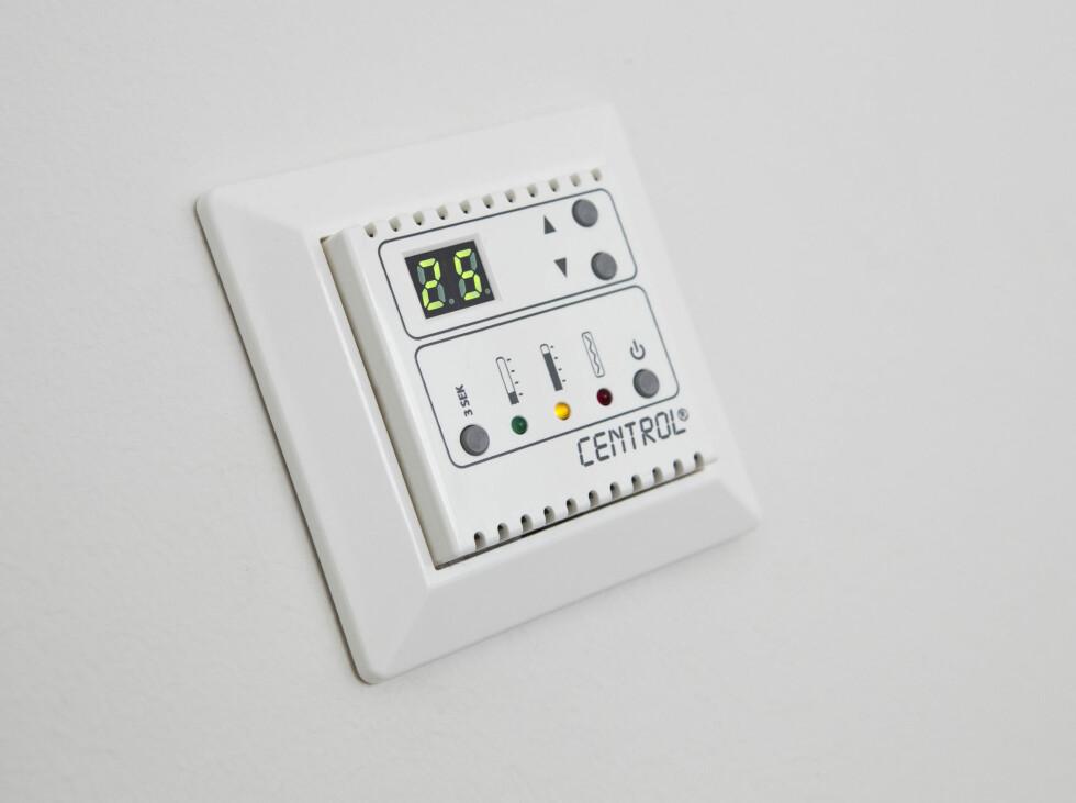 Strømstyringssystem for varme. Foto: Per Ervland