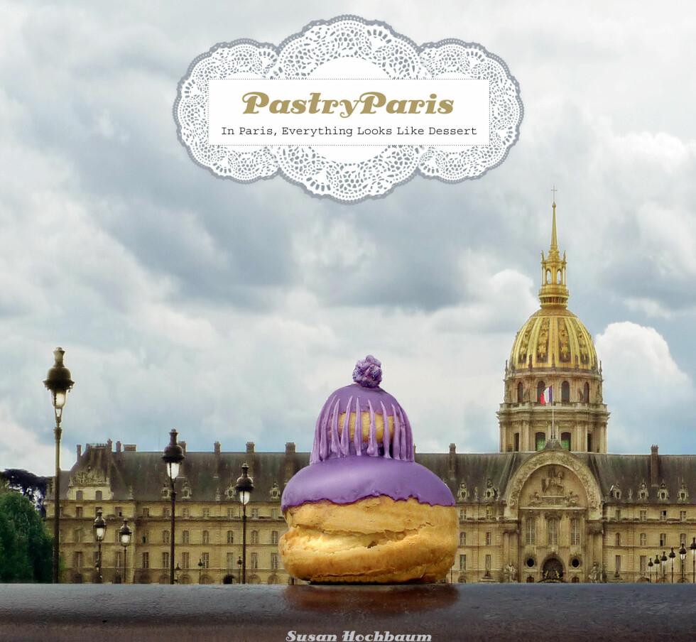 I Frankrike har de for eksempel Chocolaterie, som er rene sjokoladebutikker, og konditorier hvor det bugner av lekre franske fristelser. Hva hadde vi gjort uten croissanter, crêpes og franske makroner? Her ser du bokomslaget til Pastry Paris. Foto: The Little Bookroom/Susan Hochbaum
