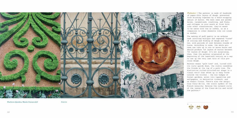 Palmier-kaken og buskkunsten ved Parlerre Garden, Musée Carnavalet, ligner veldig på hverandre.  Foto: The Little Bookroom/Susan Hochbaum