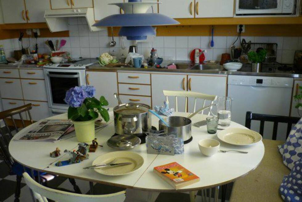 Moa Söderhielm ønsket å vise frem hvordan det faktisk ser ut, i et helt vanlig hjem, der det bor en helt vanlig familie. Foto: Moa Söderhielm