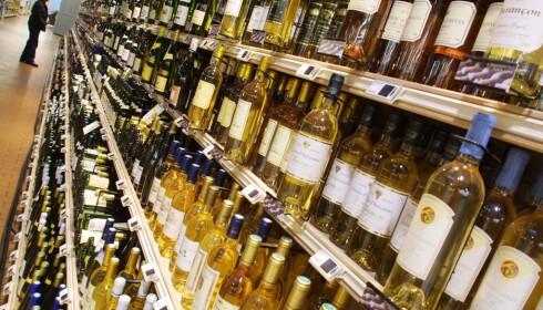 """RIMELIG FORBRUK: Det er ingen fastsatt kvote på vin, som du kan kjøpe til et """"rimelig forbruk""""."""