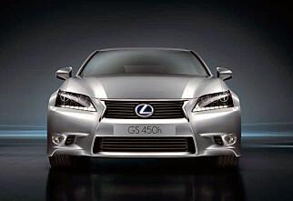 Ny Lexus GS 450h blir gunstig i Norge