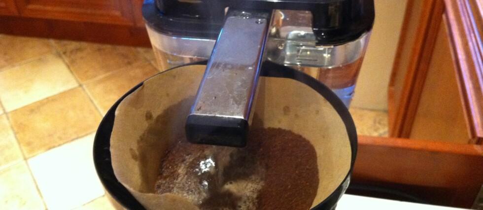 Brune kaffefiltre gir bitter kaffe. Det har vi selv erfart.  Foto: ØYVIND PAULSEN
