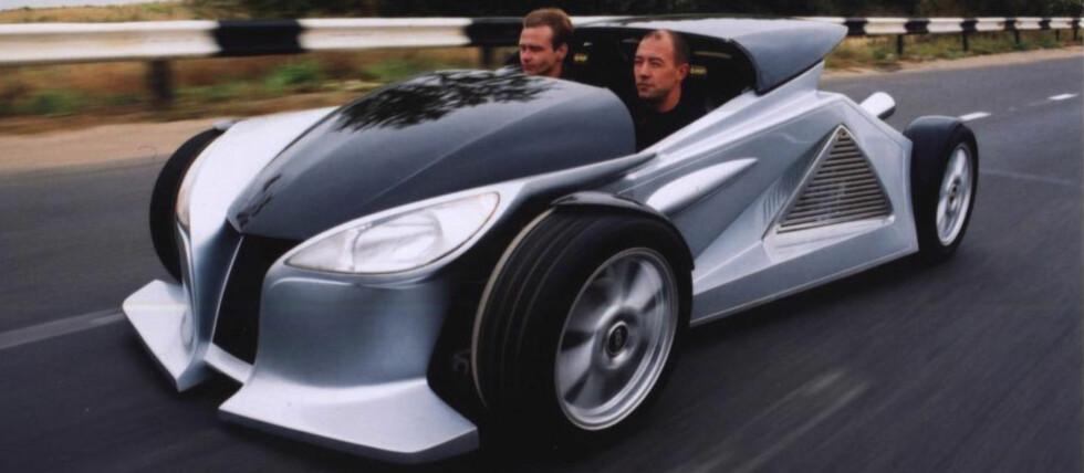Dartz Mojo er en sporty liten roadster fra... Latvia. Foto: Produsenten